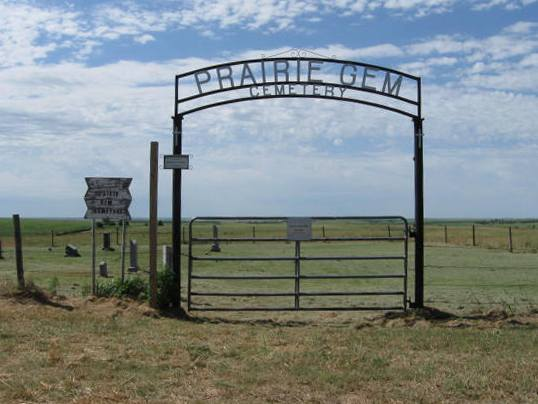 Prairie Gem gate photo
